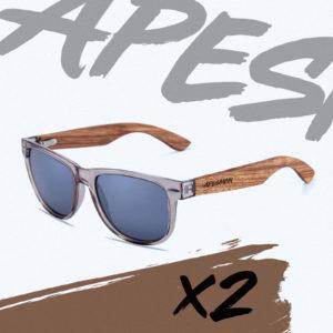 Apesman X2 Clear Smoke Frame